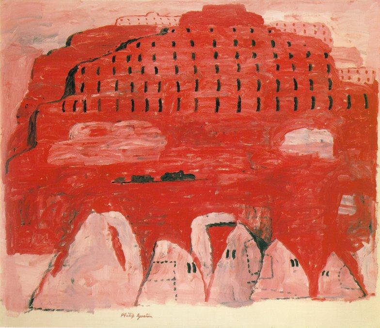 Periferia di Philip Guston (1913-1980, Canada)