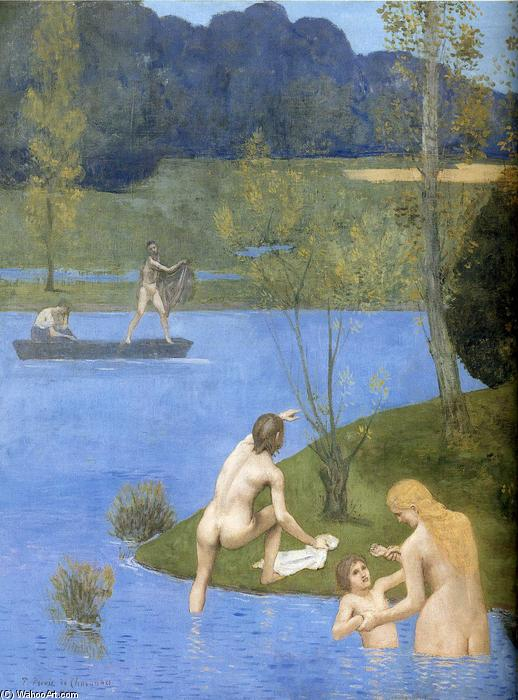 Estate particolare, 1891 di Pierre Puvis De Chavannes (1824-1898, France)