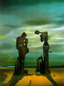 Salvador Dali - Archeologico Reminiscenza Millet-s Angelus