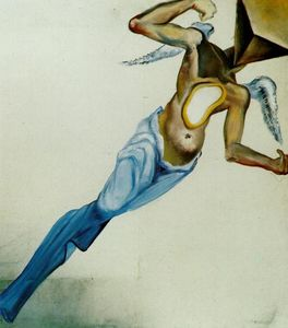 Salvador Dali - surrealista angelo