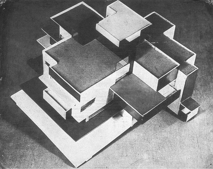 modello particulare Casa, 1923 di Theo Van Doesburg (1883-1931, Netherlands)