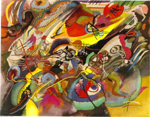Wassily Kandinsky - Studio per --Composition VII--