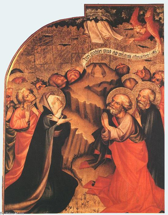 Ascensione, tempera di Master Thomas De Coloswar