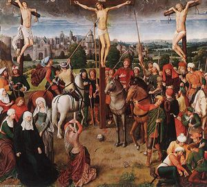 Hans Memling - crocifissione