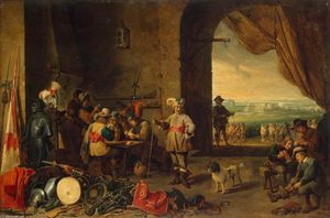 David The Younger Teniers - Guardiola