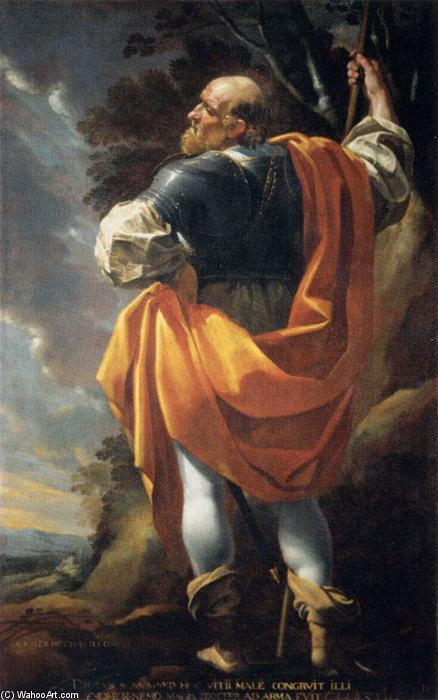 Gaucher de Châtillon, Connétable, olio su tela di Simon Vouet (1590-1649, France)