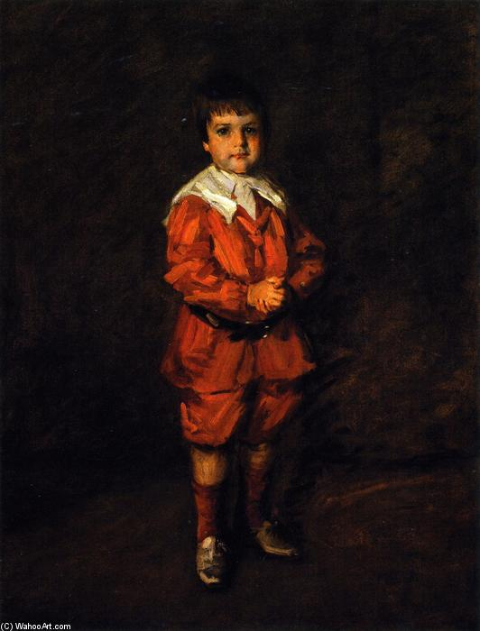 Master Robert, olio su tela di William Merritt Chase (1849-1916, United States)