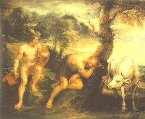 Peter Paul Rubens - Mercurio e Argo