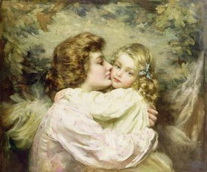 Thomas Benjamin Kennington - madre e figlia