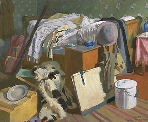 William Newenham Montague Orpen - Il mio Atelier a Cassel