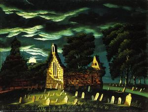 Thomas Chambers - Old Church Sleepy Hollow