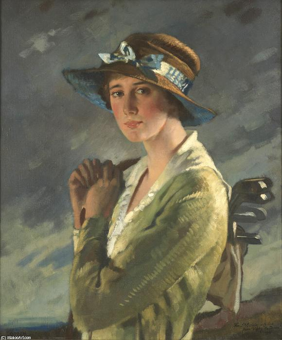 Ritratto di Dolly Stiles di William Newenham Montague Orpen (1878-1931, Ireland) | ArtsDot.com