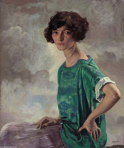 William Newenham Montague Orpen - Ritratto di Gertrude Sanford