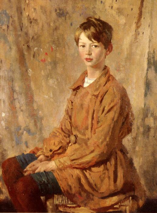 Ritratto Di Maestro Spottiswoode di William Newenham Montague Orpen (1878-1931, Ireland)