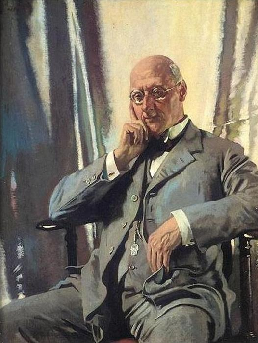 Ritratto mr francis Enrico edward livesay di William Newenham Montague Orpen (1878-1931, Ireland) | Copia Pittura | ArtsDot.com
