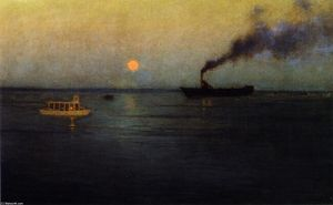 Lowell Birge Harrison - Roseo Luna via Charleston Port..