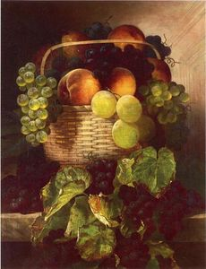 William Mason Brown - Still Life with Uva . Susine a..