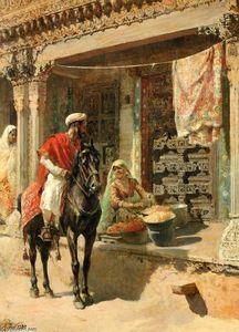 Edwin Lord Weeks - Venditore ambulante, Ahme..