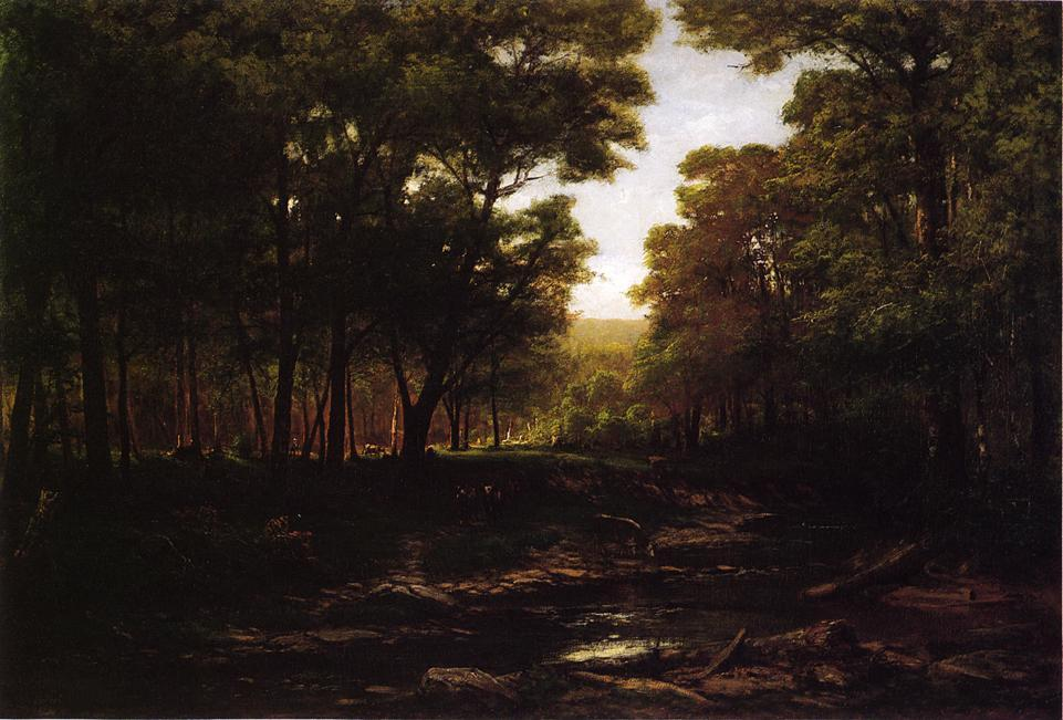 Estate in Scalp Level, 1881 di George Hetzel (1826-1899, France) | Riproduzioni D'arte Del Museo | ArtsDot.com