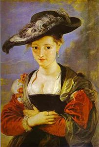 Peter Paul Rubens - susanna fourment