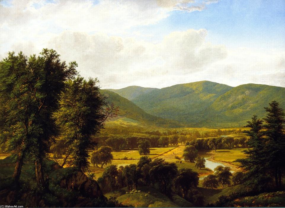 la valle di William Mason Brown (1828-1898, United States) | Riproduzioni Di Qualità Del Museo | ArtsDot.com