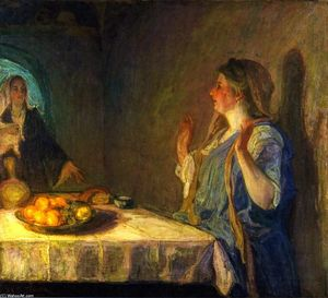 Henry Ossawa Tanner - The Visitation (noto anche come Maria Visiting Elizabeth)