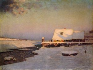 Lowell Birge Harrison - Inverno di Twilight