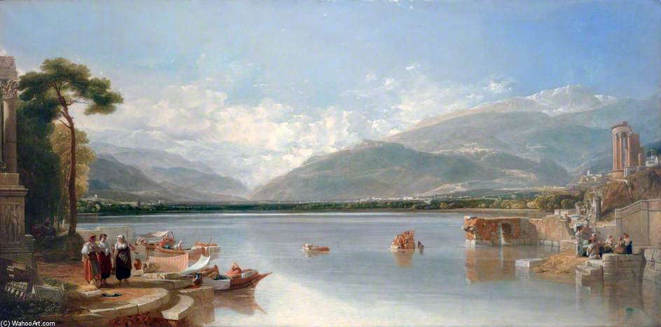 The Passage Point di Augustus Wall Callcott (1779-1844, United Kingdom) | ArtsDot.com