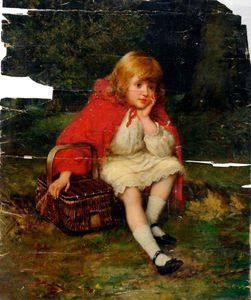 William Oliver - rosso riding hood