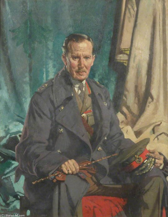 Generale Sir John S. Cowans di William Newenham Montague Orpen (1878-1931, Ireland)