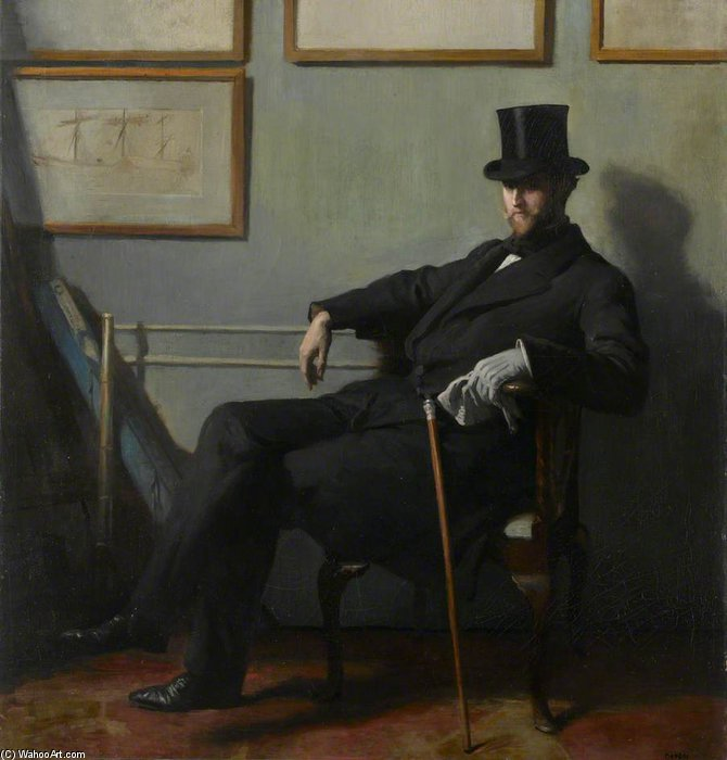 Herbert Barnard John Everett di William Newenham Montague Orpen (1878-1931, Ireland)