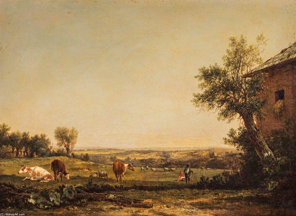 Una Scena In Hampsh di Patrick Nasmyth (1787-1831, United Kingdom)
