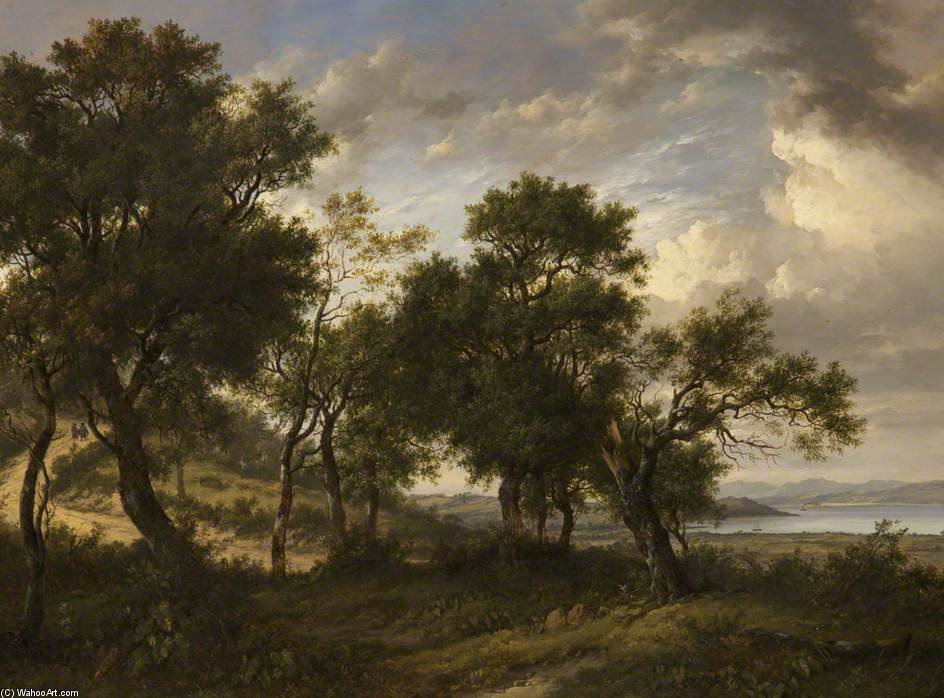 Cramond, vicino a Edimburgo di Patrick Nasmyth (1787-1831, United Kingdom)