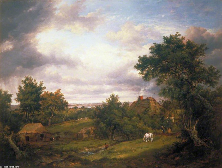 Guarda In Hampshire di Patrick Nasmyth (1787-1831, United Kingdom)