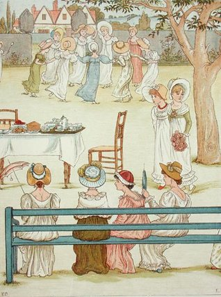 un giardino partito di Kate Greenaway (1846-1901, United Kingdom) | ArtsDot.com