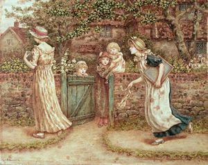 Kate Greenaway - Lucy Locket perso tasca