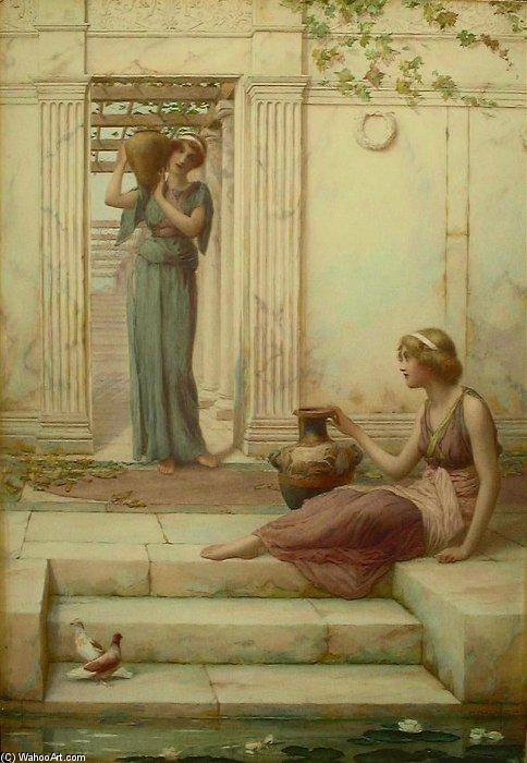 I Watercarriers di Henry Ryland (1856-1924, United Kingdom)