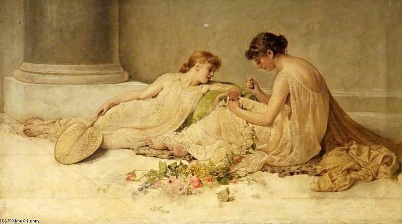 Tessitura The Garland di Henry Thomas Schafer (1873-1915, France)