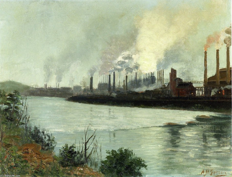 Bethlehem Steel di Aaron Harry Gorson (1872-1933, Lithuania)