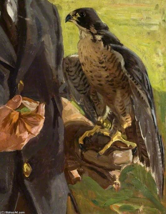 falco di Algernon Talmage (1871-1939, United Kingdom)