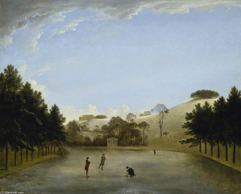 Upton Casa dal Sud di Anthony Devis (1729-1816, United Kingdom)