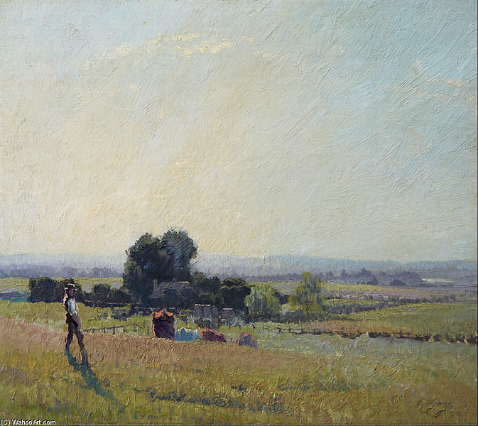 mattino luce di Elioth Gruner (1882-1939, New Zealand) | ArtsDot.com