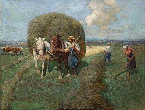 Francois Flameng - The Hay Carta
