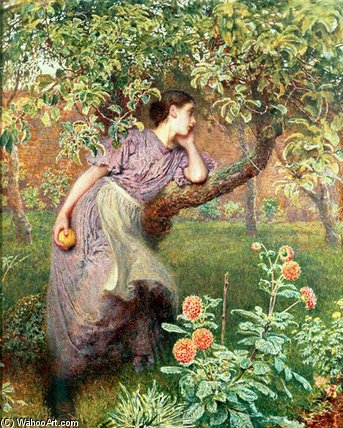 autunno di Frederick Walker (1840-1875, United Kingdom)