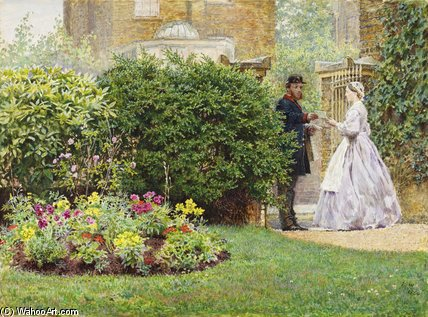 My Front Garden di Frederick Walker (1840-1875, United Kingdom)