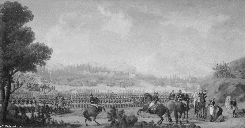 Battle Of Valkeala di Pehr Hillestrom (1732-1816, Sweden) | ArtsDot.com