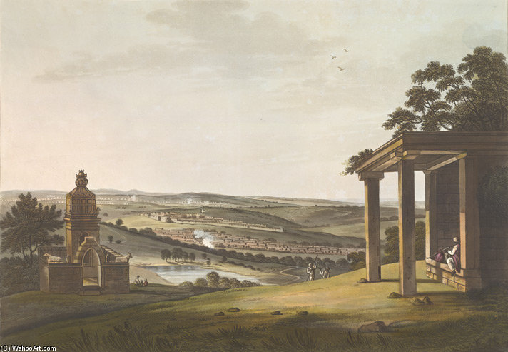 Una Vista Di Ossoore di Thomas And William Daniell (1769-1837, United Kingdom)