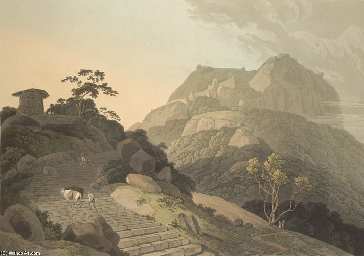 Verapadroog, Nella Barramah l di Thomas And William Daniell (1769-1837, United Kingdom)