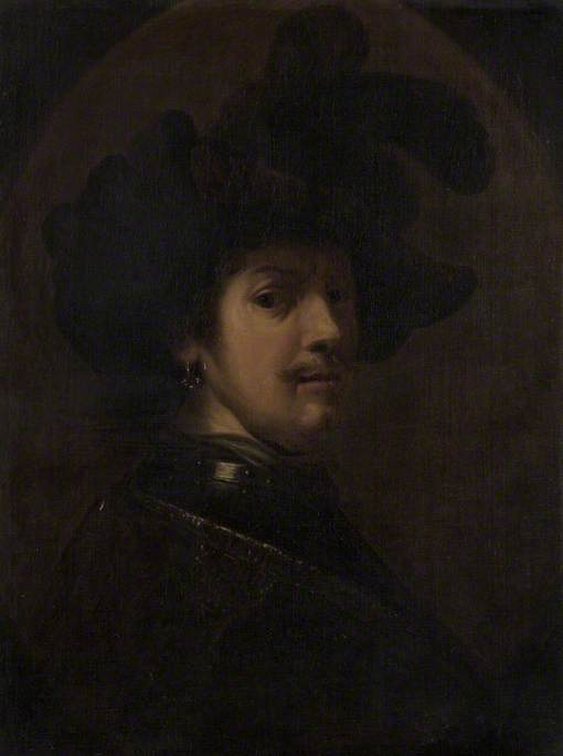 Autoritratto di Rembrandt come ufficiale di Thomas Barker (1769-1847, United Kingdom)