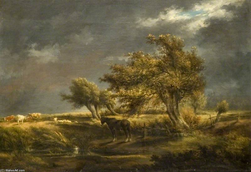 Stormy Landscape di Thomas Barker (1769-1847, United Kingdom)